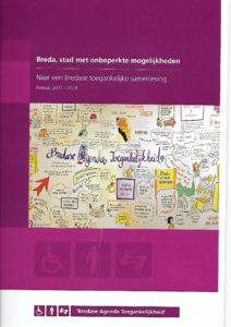 kaft Breda, stad met onbeperkte mogelijkheden